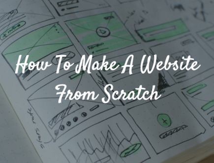 How to make a website from scratch